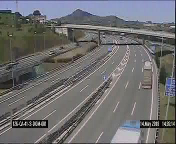 Enlace A8 dirección Cantabria