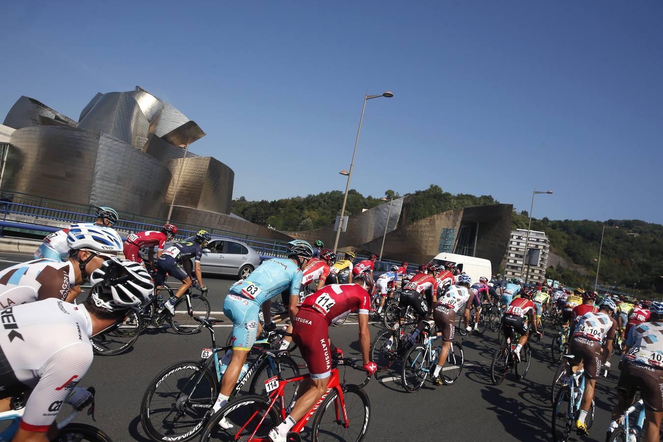 La Vuelta parte desde Bilbao