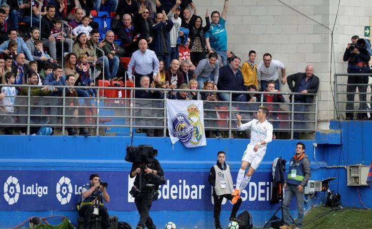 Partido Eibar-Real Madrid, en imágenes