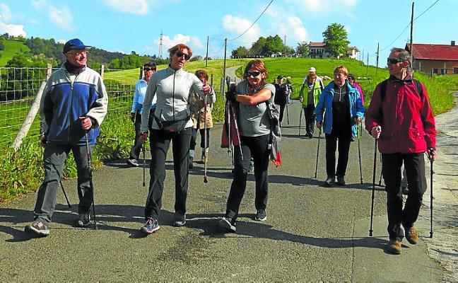 Curso de nordic walking el próximo 20 de mayo