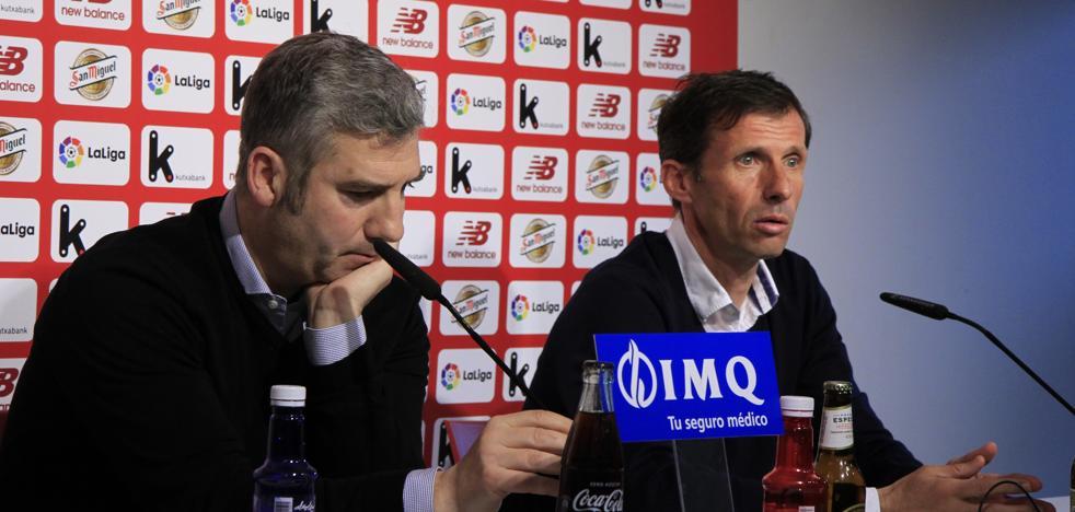 Urrutia confirma que Ziganda no será el entrenador del Athletic la próxima temporada