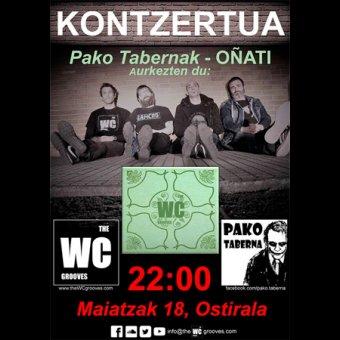 Concierto: The WC Grooves en Oñati