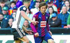 El uno a uno del Eibar ante el Valencia