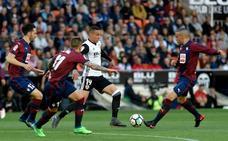 El Eibar impuso su orden en Valencia