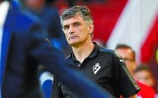 José Luis Mendilibar: «Es un punto bueno ante un equipo que está jugando bien»