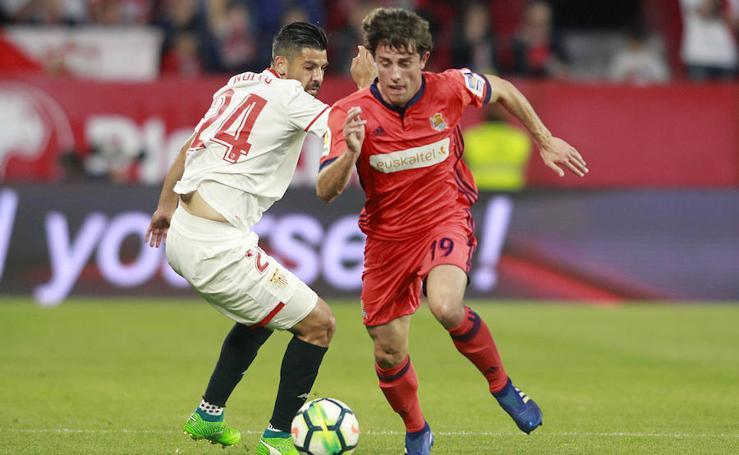 La Real y el Sevilla miden sus fuerzas