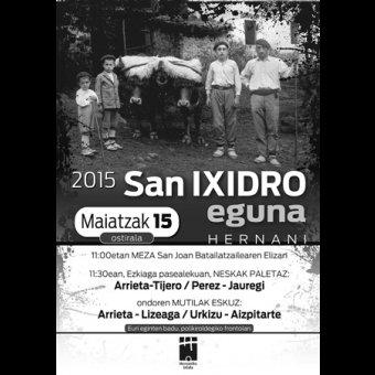 Fiesta de San Isidro en Hernani