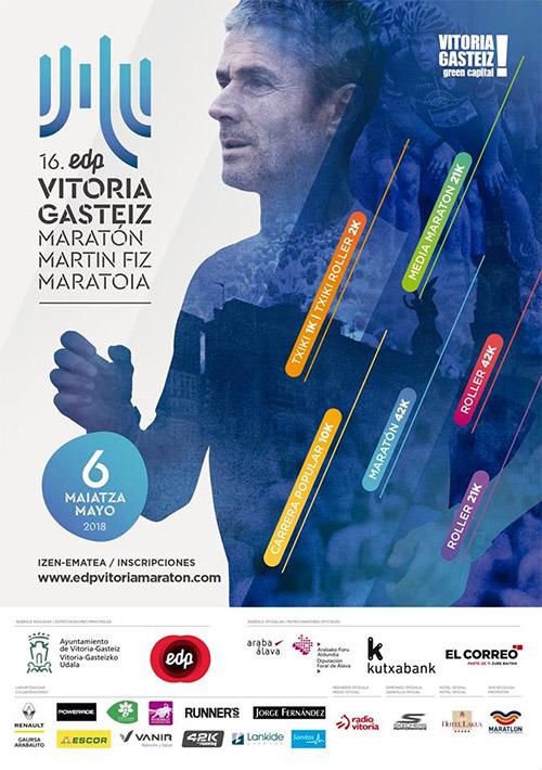 EDP Vitoria-Gasteiz Maratón Martín Fiz 2018