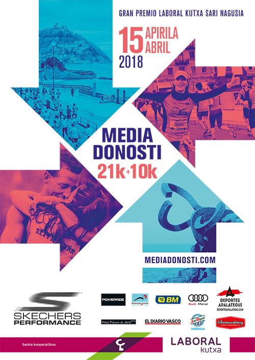 Media Donosti 2018 (Media Maratón San Sebastián)