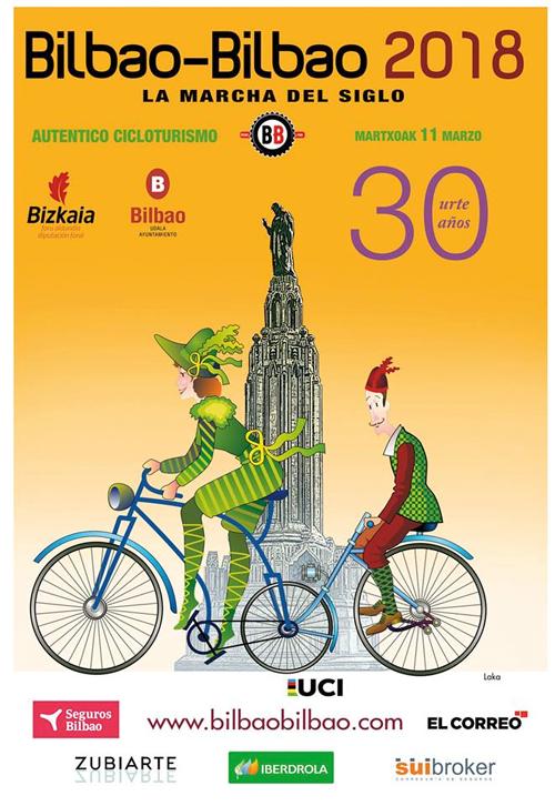 Bilbao - Bilbao 2018 Marcha Cicloturista Internacional