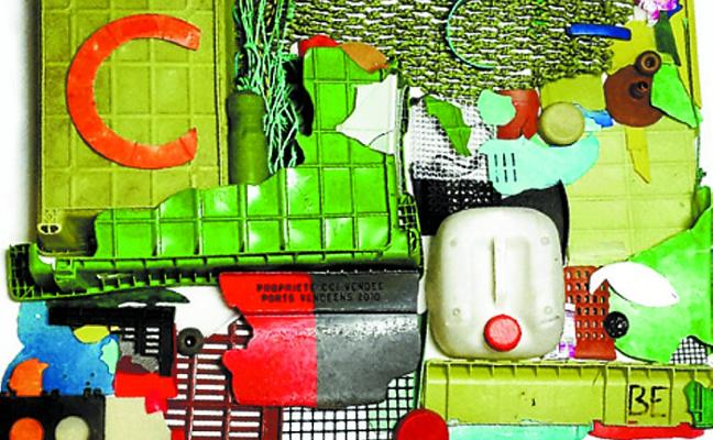 La basura marina se hace visible en la exposición 'Bajamar'