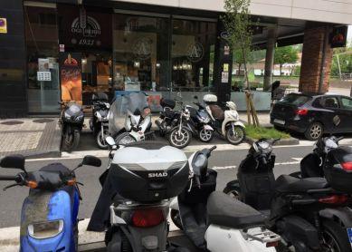 Si hay poco sitio para aparcar...