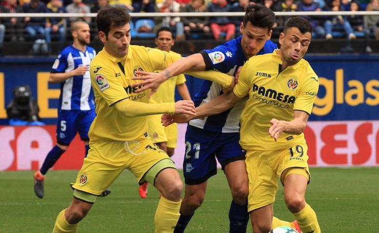 Las mejores fotos del Villarreal - Alavés de Liga Santander 2017-2018