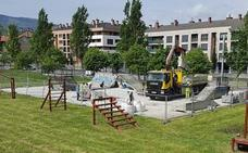 Etxebarri invierte 31.000 euros en el skatepark