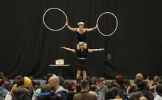 El festival de clowns de Arrigorriaga reúne a 6.500 personas