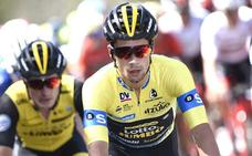 Roglic: «La etapa de Arrate será complicada pero espero aguantar el amarillo»