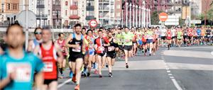 El Medio Maratón Puente Bizkaia 2018 se corre en mayo