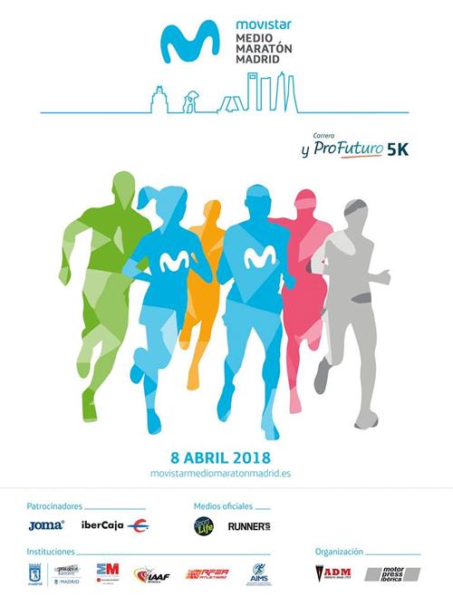 Medio Maratón Madrid 2018 Movistar