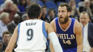 Sergio Rodríguez y Ricky Rubio, duelo español en la NBA