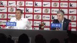 El momento más emotivo de la despedida de Valverde