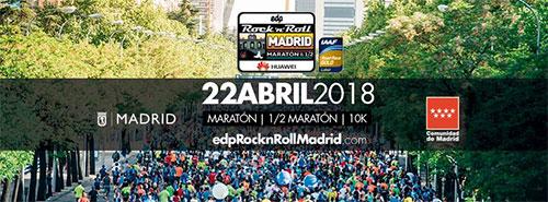 Maratón Madrid 2018 - Rock n Roll Series