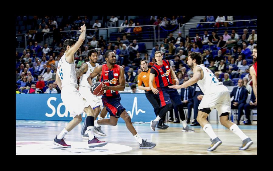 Así ha sido el encuentro entre el Real Madrid y el Baskonia