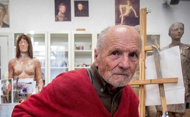 El pintor de 82 años que retratará Bilbao