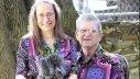 Nancy y Donald Featherstone, con