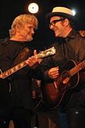 Kristofferson y Costello en el Jazzaldia
