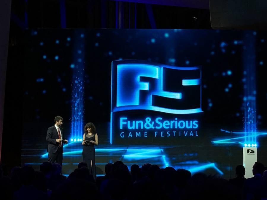 Entrega de premios del Fun & Serious Game Festival