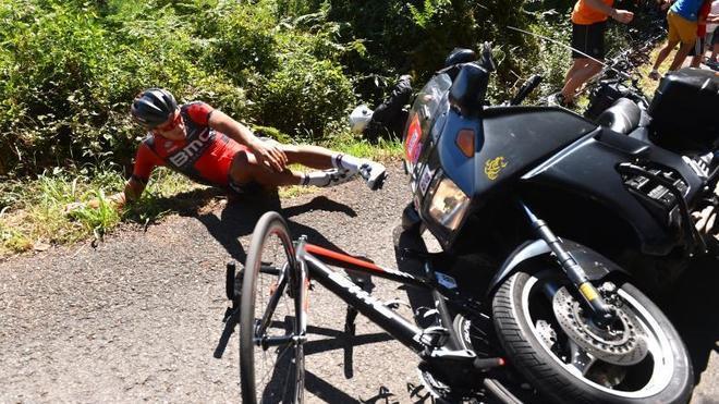Clásica San Sebastián: BMC estudia medidas legales por el incidente con Greg Van Avermaet