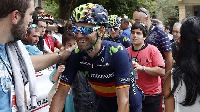 Valverde: «Una pena no ganar la Clásica San Sebastián, pero es un podio también importante»