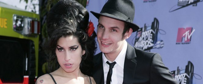 Amy Winehouse y Blake Fielder-Civil