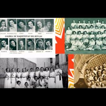 Exposición - La trayectoria de las raquetistas en Andoain