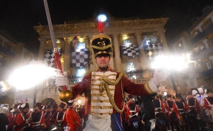 La Arriada puso un brillante broche final a la fiesta de San Sebastián
