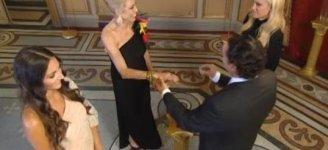 José Luis le pone el anillo a Toya