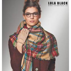 Maxi Bufanda Escoces Lola Black