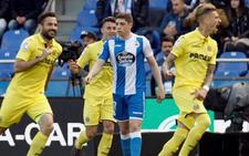 El Villarreal sella su billete a Europa ante un Dépor deprimido