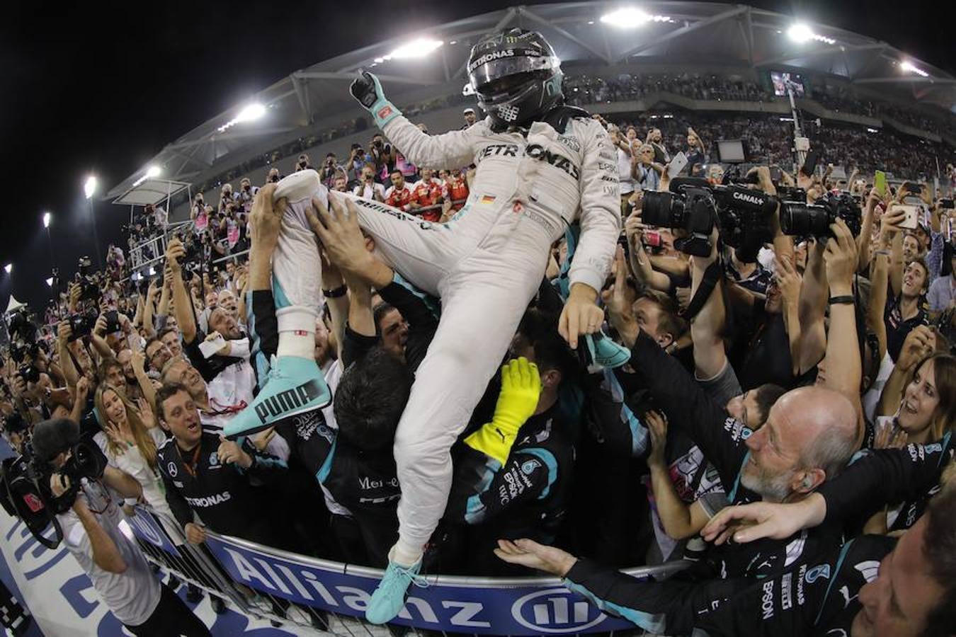 La carrera de Rosberg, en imágenes