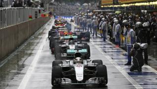 La lluvia, protagonista en el Gran Premio de Interlagos
