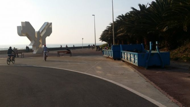 Mobiliario e infraestructuras en Donostia-San Sebastián