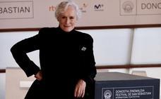 Glenn Close: «Si me dan un Oscar, espero no recogerlo en silla de ruedas»