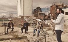 Iván Sáez lanza con otros músicos una formación de «jazz post-industrial»
