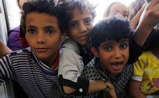Fiesta solidaria en Erandio con destino a los niños de Yemen