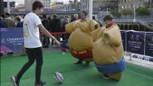 Inaugurada la 'Fan Zone' de Bilbao