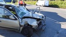Muere un hombre de 58 años al chocar de frente contra un camión estacionado en Leioa