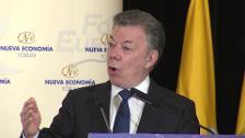 Santos asegura que el acuerdo don FARC no se podrá romper