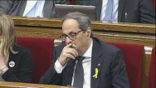 """Domènech: """"Señor Torra, ¿qué piensa de los españoles?"""