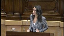 """Arrimadas: """"Si alguna vez el independentismo pensaba que tenía alguna posibilidad de salirse con la suya, hoy la entierran"""""""