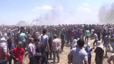 Ya son 59 los palestinos muertos en las protestas en Gaza
